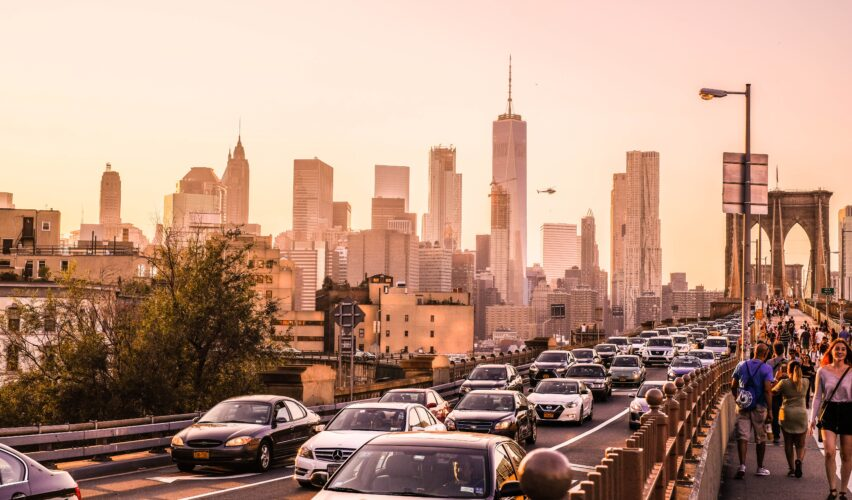 Sentimental urban planning traffic jam